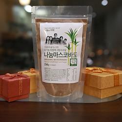 유기농 비정제설탕 나눔마스코바도 (250g)